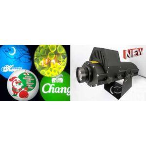 Beltéri gobo-logó projektor - 4 kép - LED100G4
