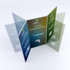 Cikk-Cakk sajtófal - T3 Frame