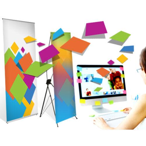 X és L bannerekhez grafikai szerkesztés és tervezés