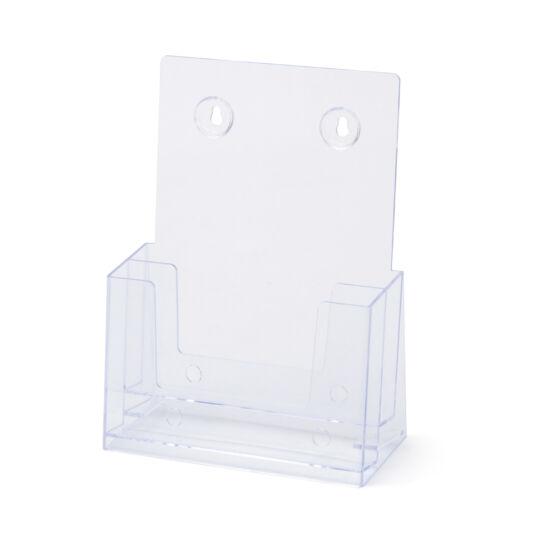 Asztali/fali szórólaptartó - kétzsebes