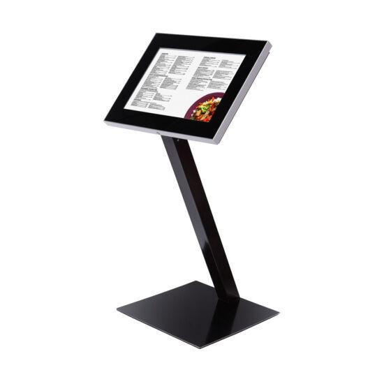 Kültéri LED-es menütábla - fekete