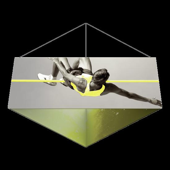 Belógatható reklám banner - Háromszög