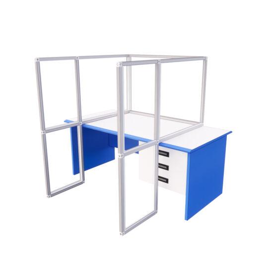 Leheletvédő plexi védőfal asztalra - T3 Affinity