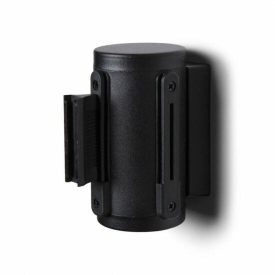 Szalagos fali kordon - 270 cm - fekete