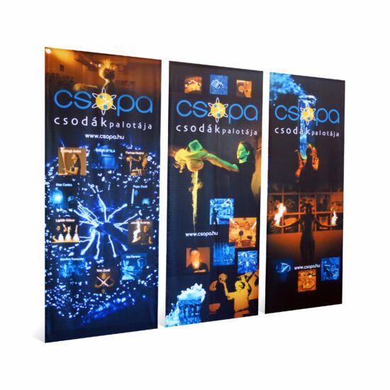 Multi banner 90 x 230 cm 3db