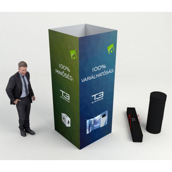 Reklám torony - Négyzet - T3