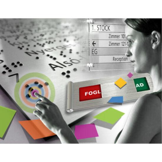 Információs tábla szerkesztése és tervezése
