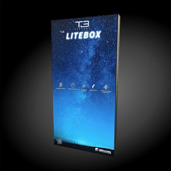 Világító háttérfal - T3 Litebox