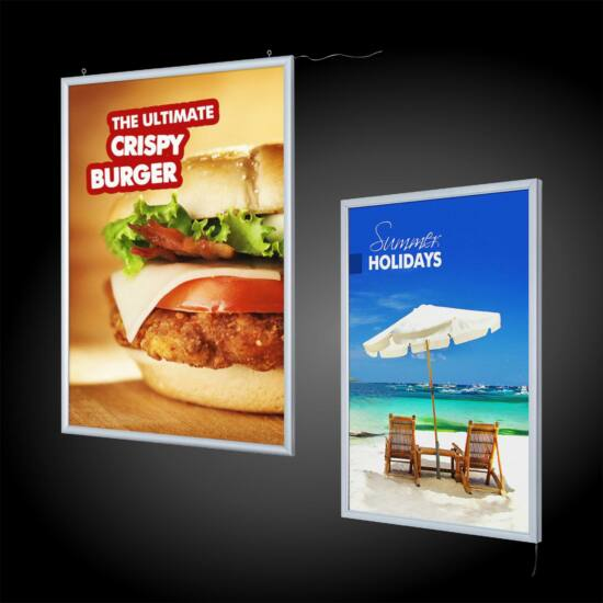 Világító plakátkeret - Egyoldalas