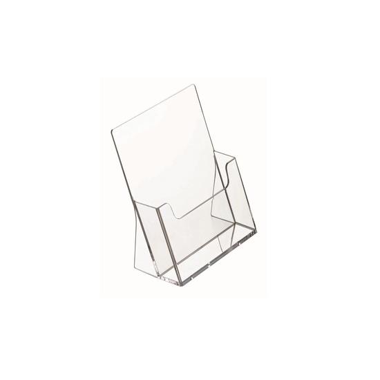 Asztali szórólaptartó - A4 - egyrekeszes