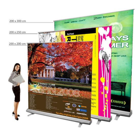Giga roll-up 200/250/300 cm magas