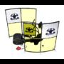 Kép 3/17 - Egyedi íves plexi védőfal készítés edzőterembe